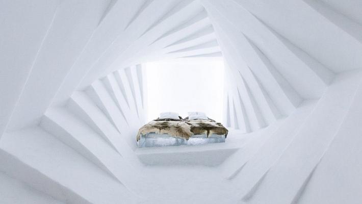 Un nou hotel de gheata a fost inaugurat in Suedia 7