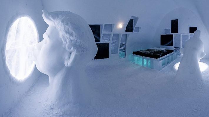 Un nou hotel de gheata a fost inaugurat in Suedia 10