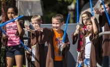 Star Wars la Disneyland Paris: Academia Jedi 3