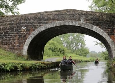 Primul traseu pentru canoe de la o coasta la alta din Marea Britanie
