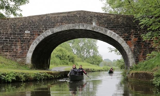 Primul traseu pentru canoe de la o coasta la alta din Marea Britanie 3