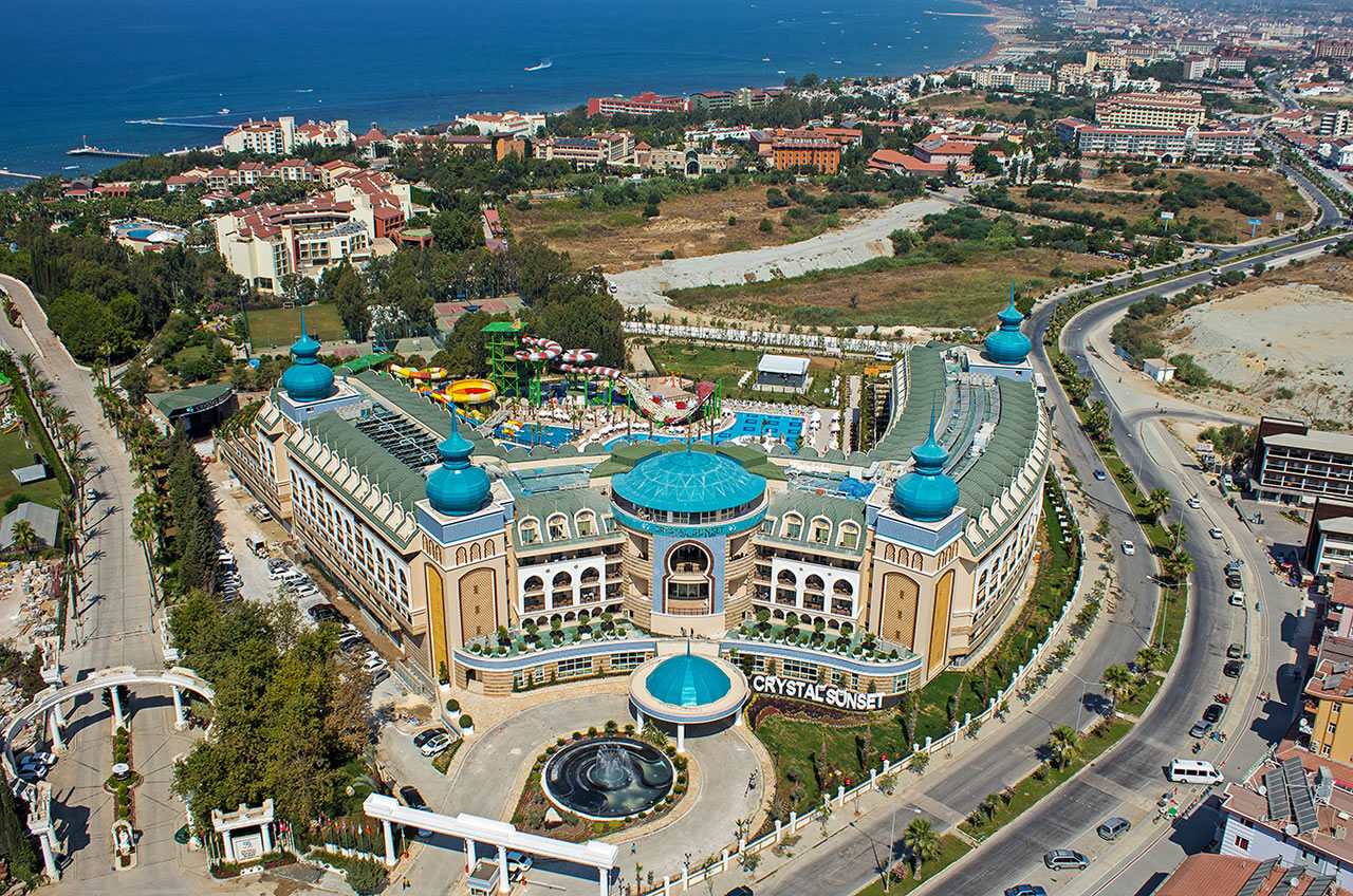 Hotel Crystal Sunset Luxury Resort  U0026 Spa
