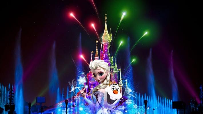 Frozen Disneyland 1