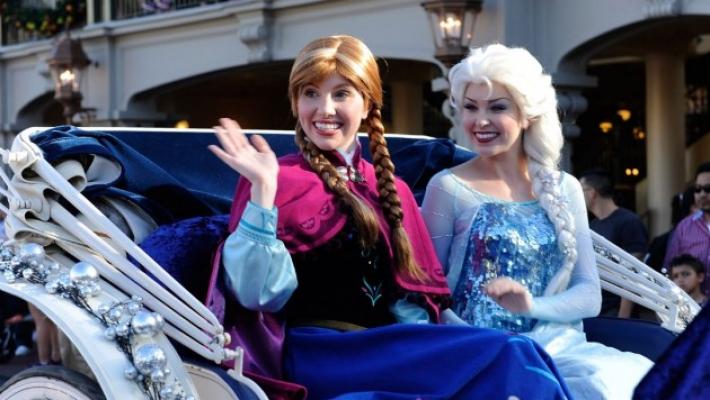 Frozen Disneyland 3