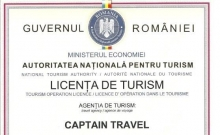 Licenta de Turism Captain Travel