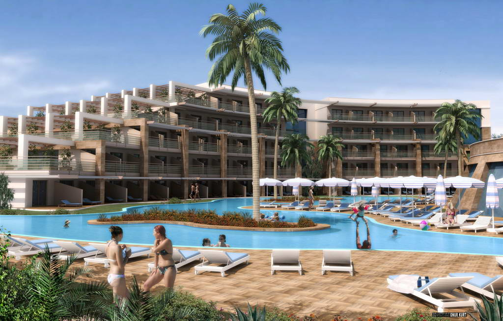 Hotel Paloma Pasha Resort Kusadasi este situat la 50 km de aeroportul ...