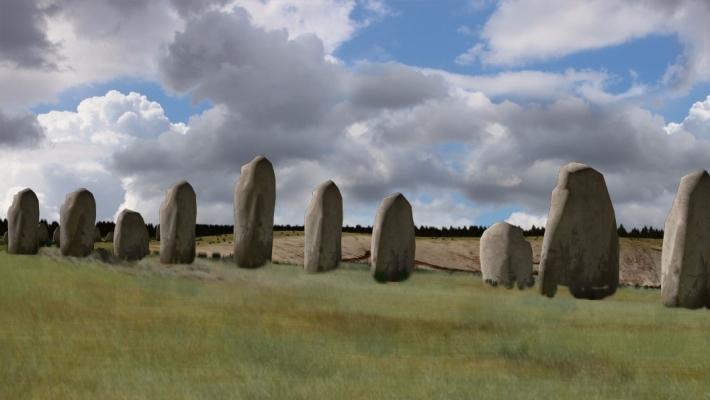 Un complex de monumente ascuns in subteran a fost gasit pe site-ul Stonehenge din Marea Britanie 3